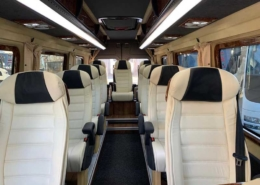 Mercedes Sprinter 12 seats Interior