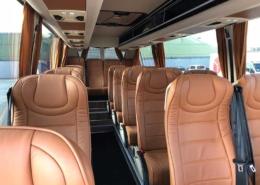 Mercedes Sprinter 18 seats Interior